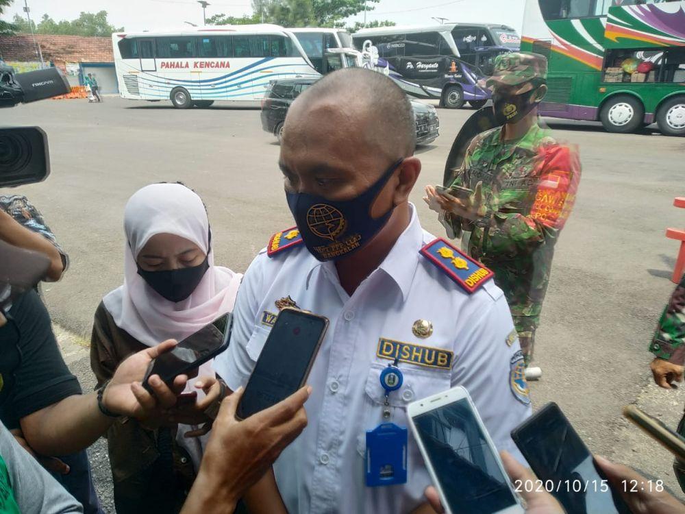 Kepala UPT Terminal Bangkalan, Abdul Wahab. (Foto: Wahyu/Advokasi.co)