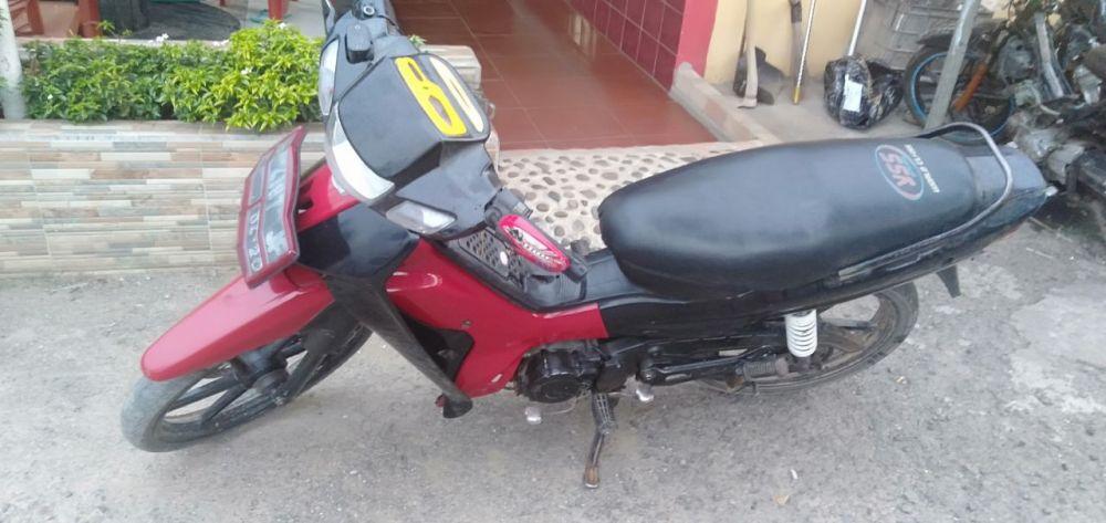 Sepeda Motor Milik Korban